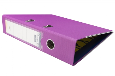 Biblioraft plastifiat 7.5cm Violet DP Collection